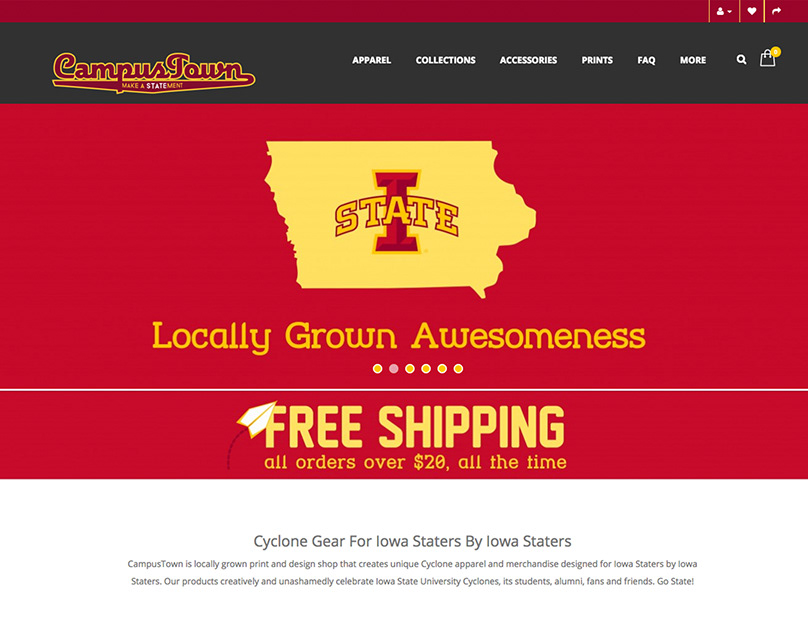 CampusTown E-Commerce Site