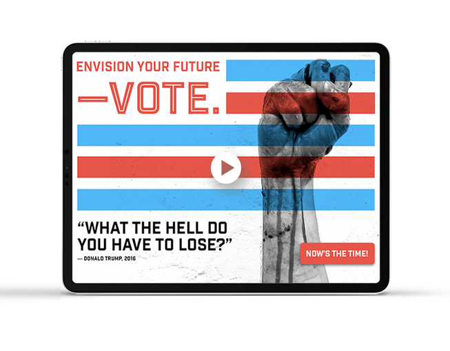Let's Register to Vote - Animation Design