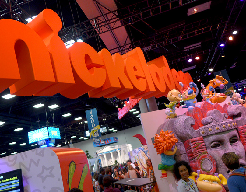 Nickelodeon SDCC 2016 Booth Design