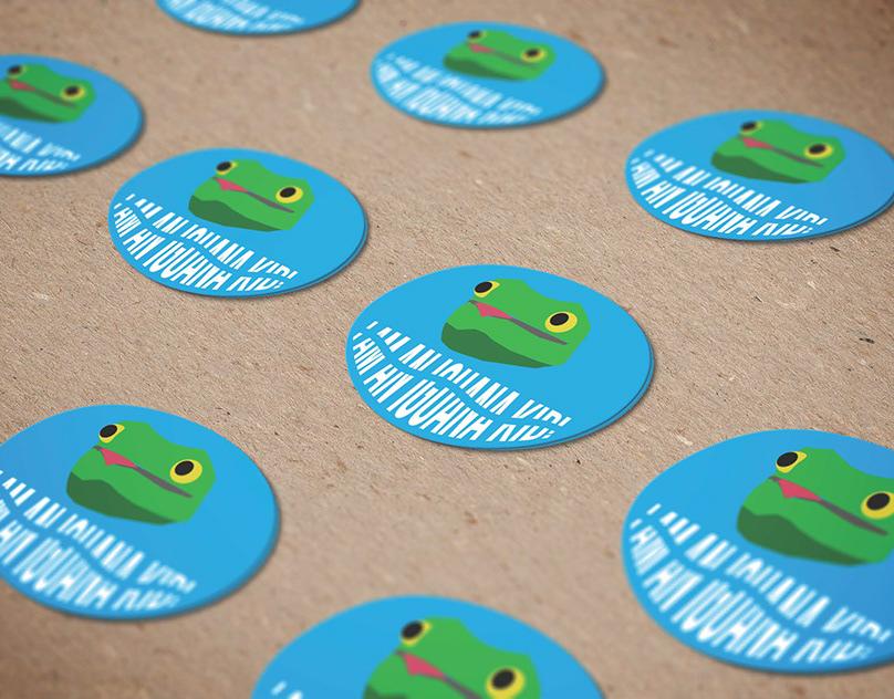 Waves Children Sticker
