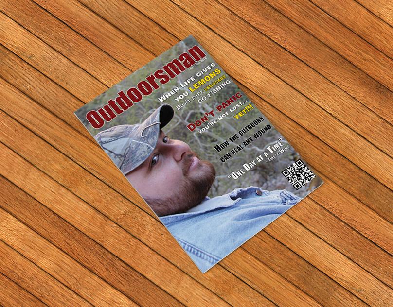 Magazine Design Typography Outdoorsman On Behance