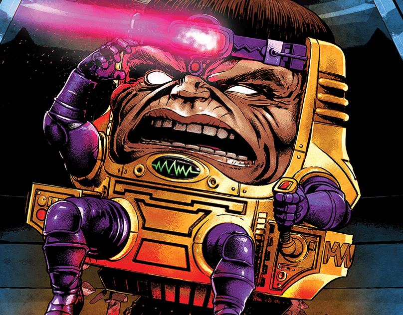 Marvel Legends M.O.D.O.K. Package Illustration