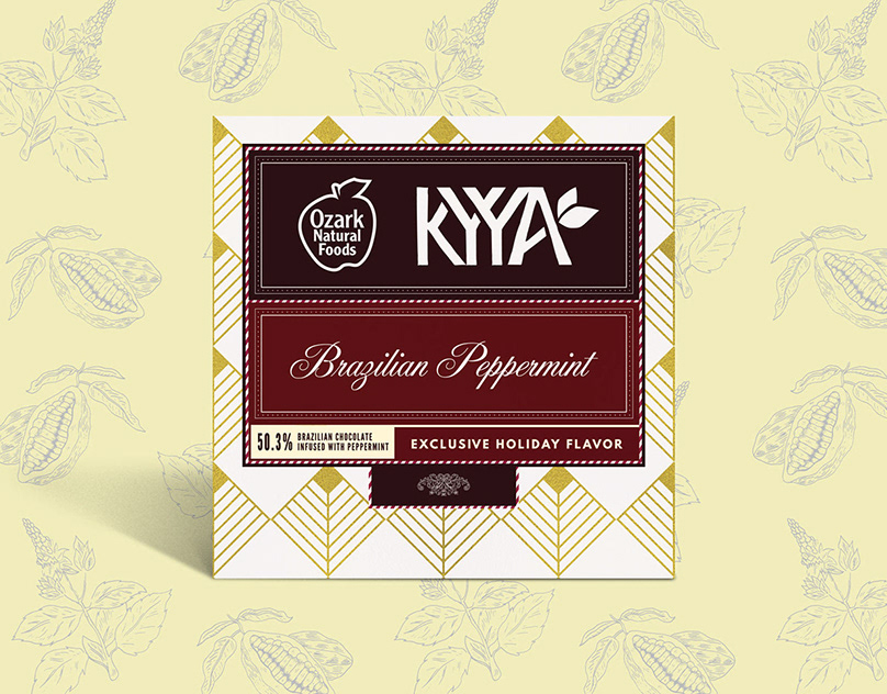 Ozark Natural Foods / Kyya Chocolate Co-Label