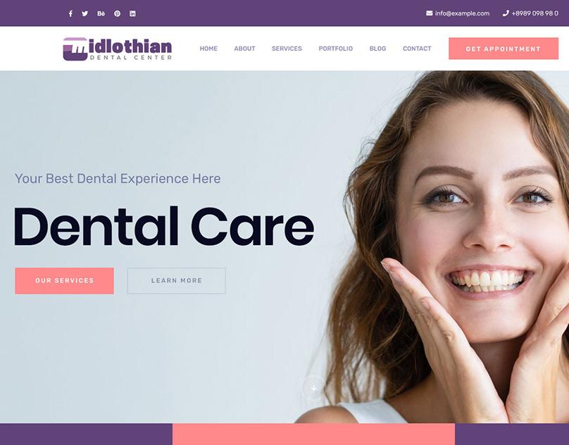 Midlothian Dental Center WordPress