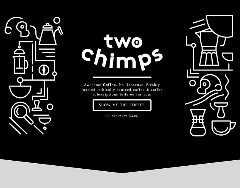 Two Chimps Coffee Shopify