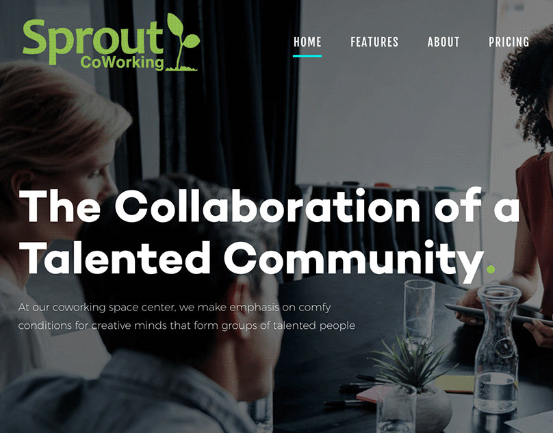 Sprout Coworking WordPress