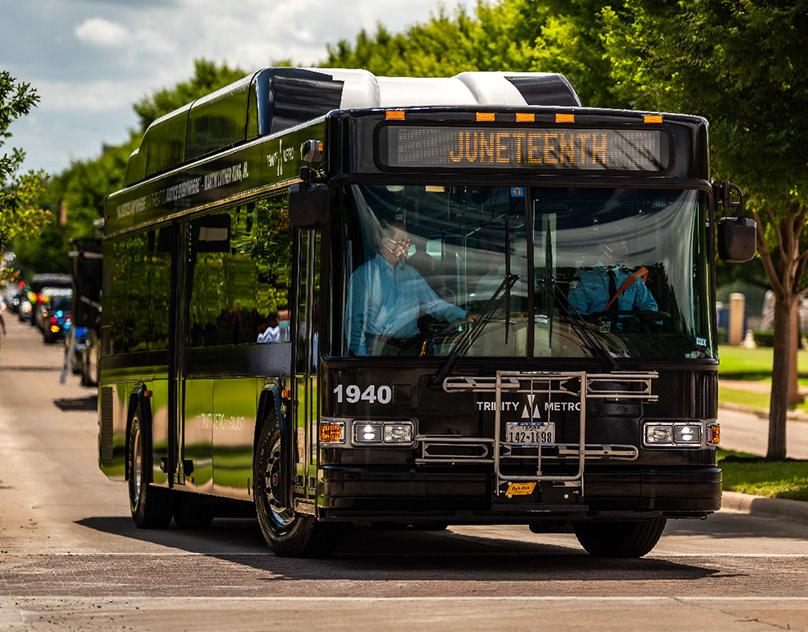 Trinity Metro Equality/Juneteenth Bus Wrap