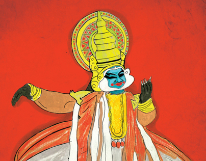 Kathakali Drawings Projects Photos Videos Logos Illustrations And Branding On Behance