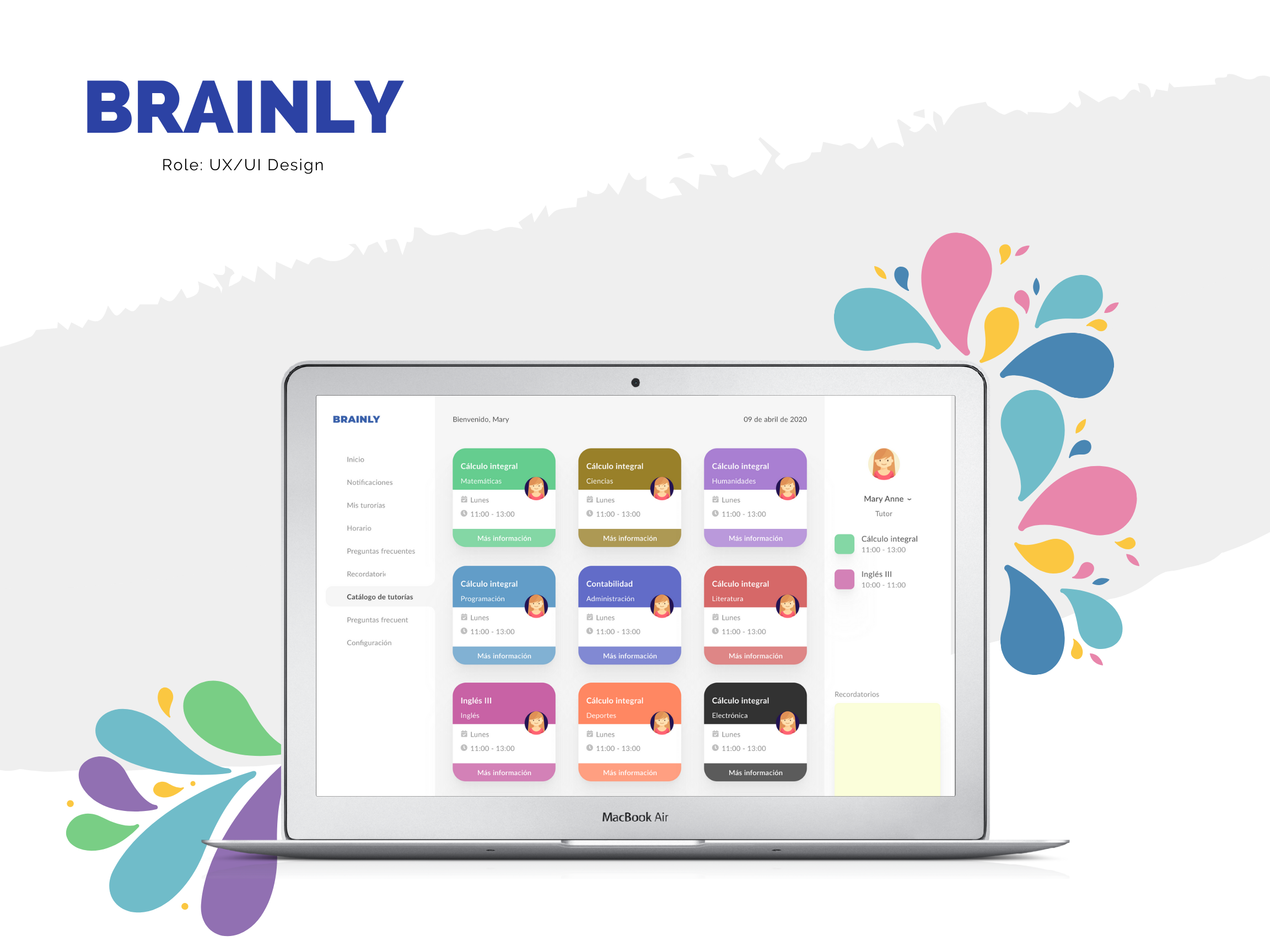 Brainly Projects Photos Videos Logos Illustrations And Branding On Behance