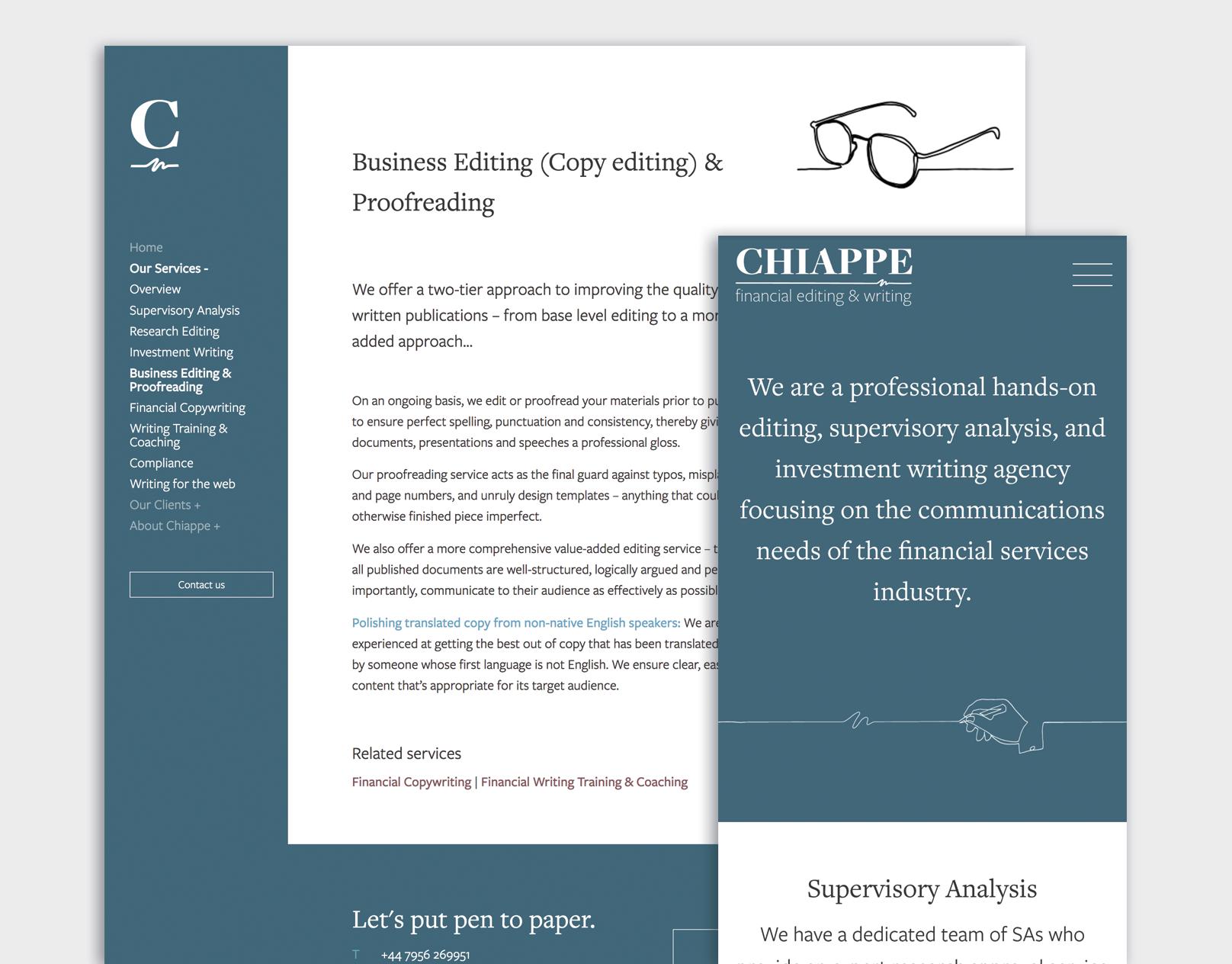 Chiappe Financial Editing & Writing