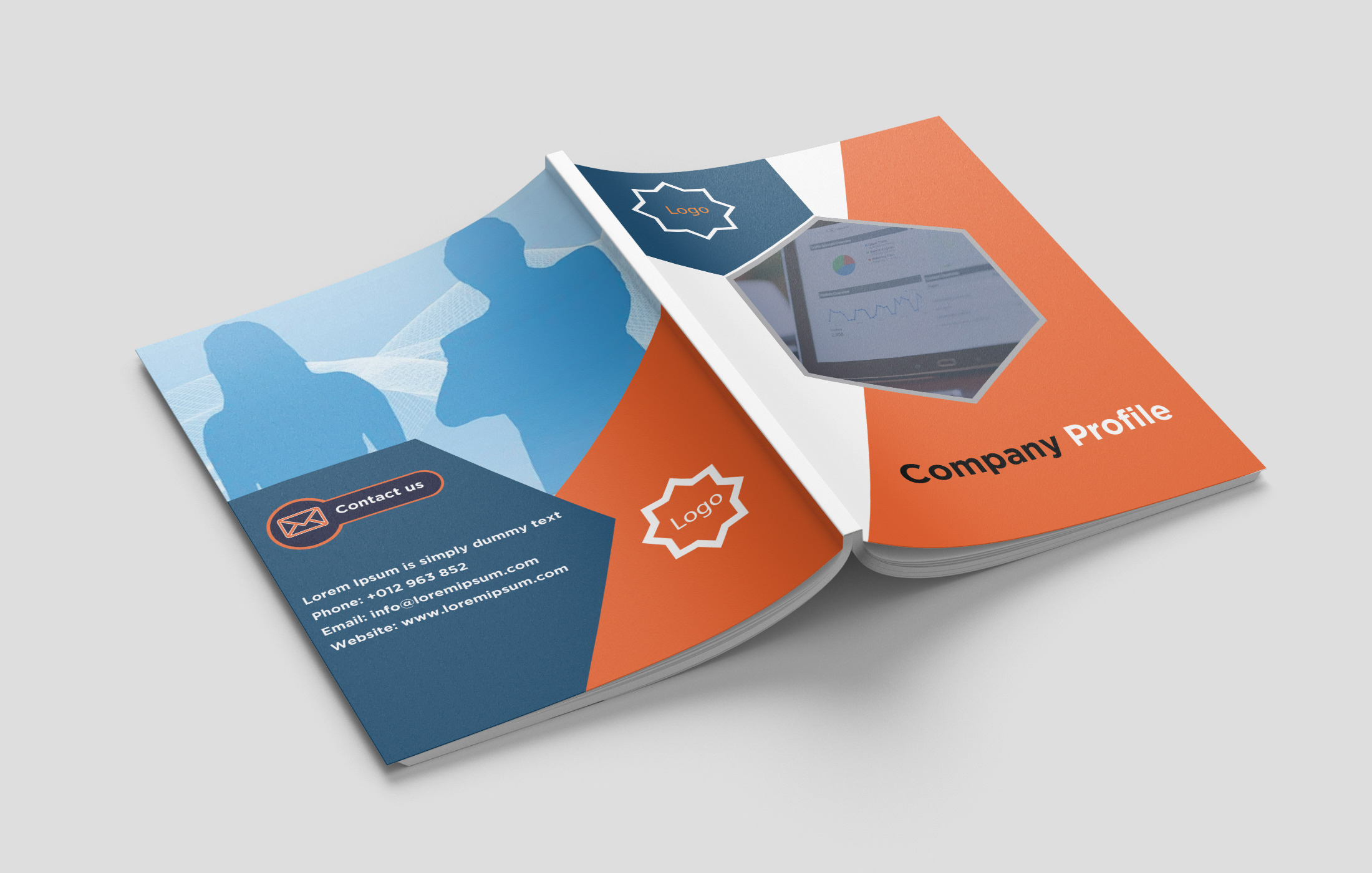 Company Profile Cover Projects Photos Videos Logos Illustrations And Branding On Behance