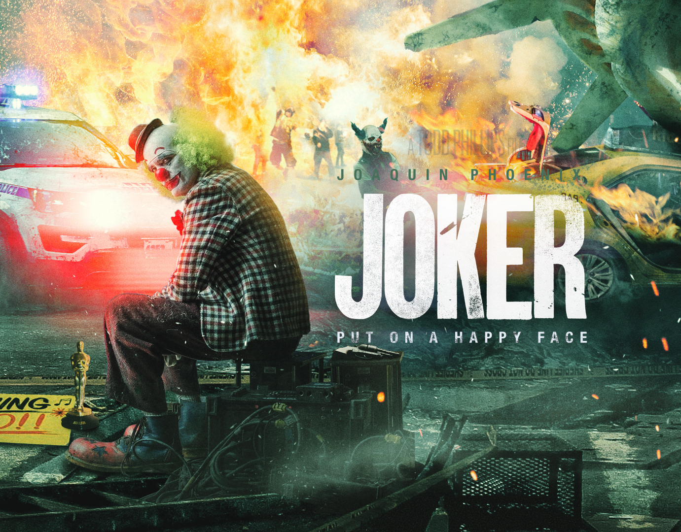Joker Movie Poster Projects Photos Videos Logos Illustrations And Branding On Behance