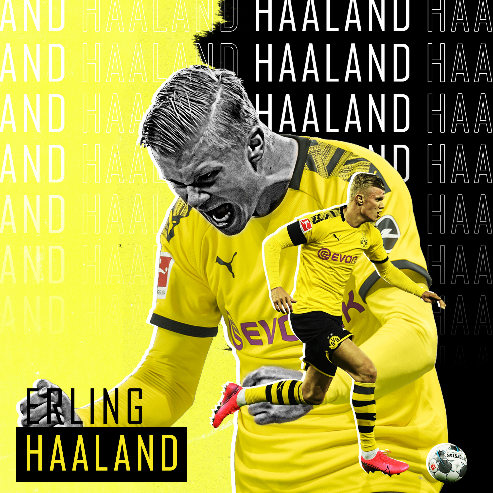 Haaland Projects Photos Videos Logos Illustrations And Branding On Behance