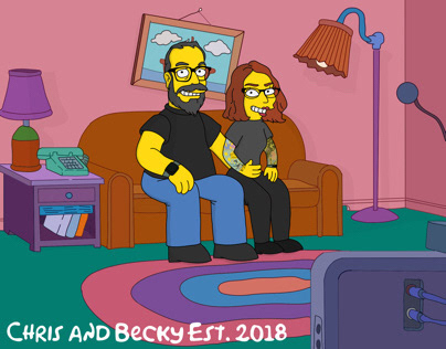 The Simpsons style commissions October