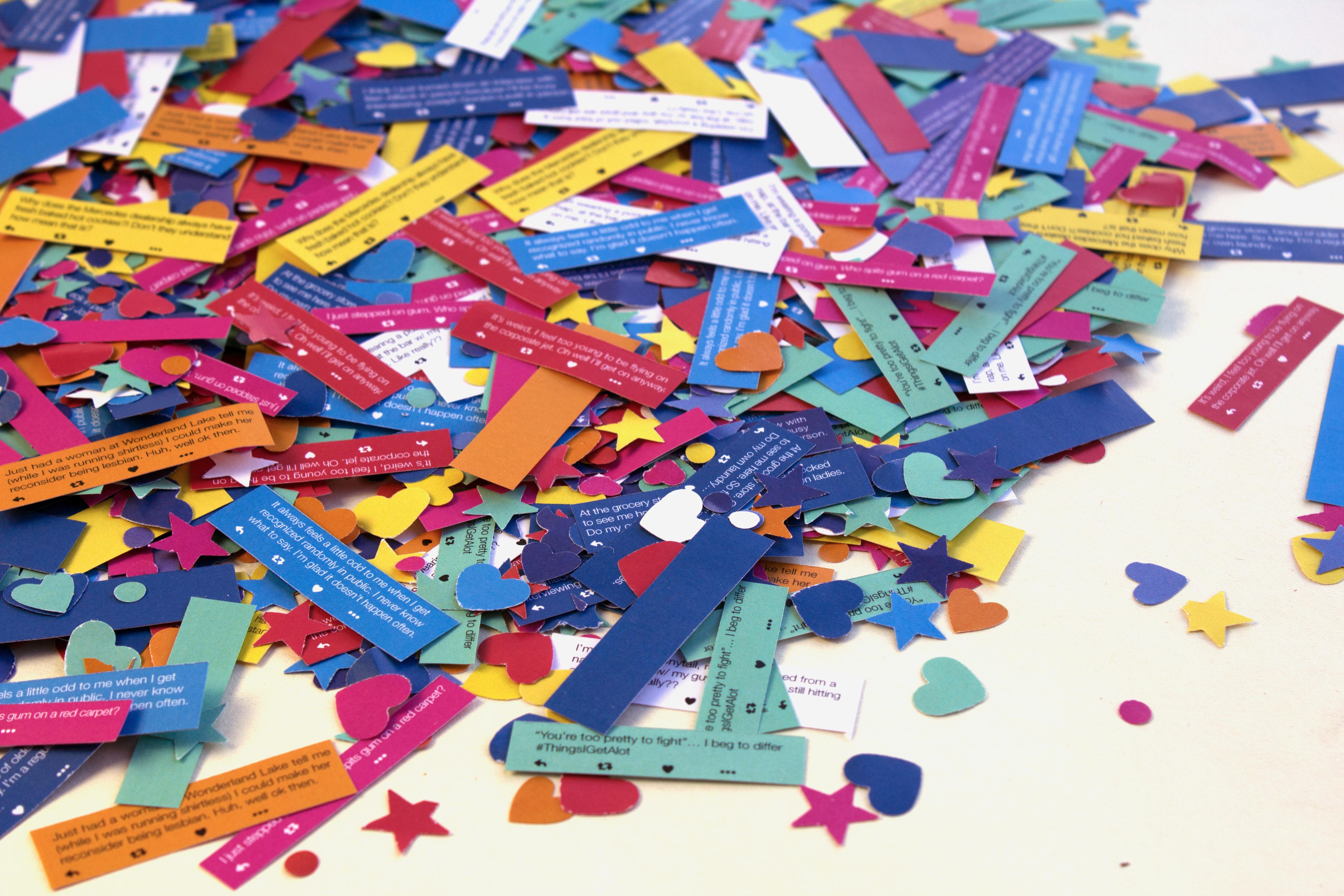 #HumbleBrag Confetti