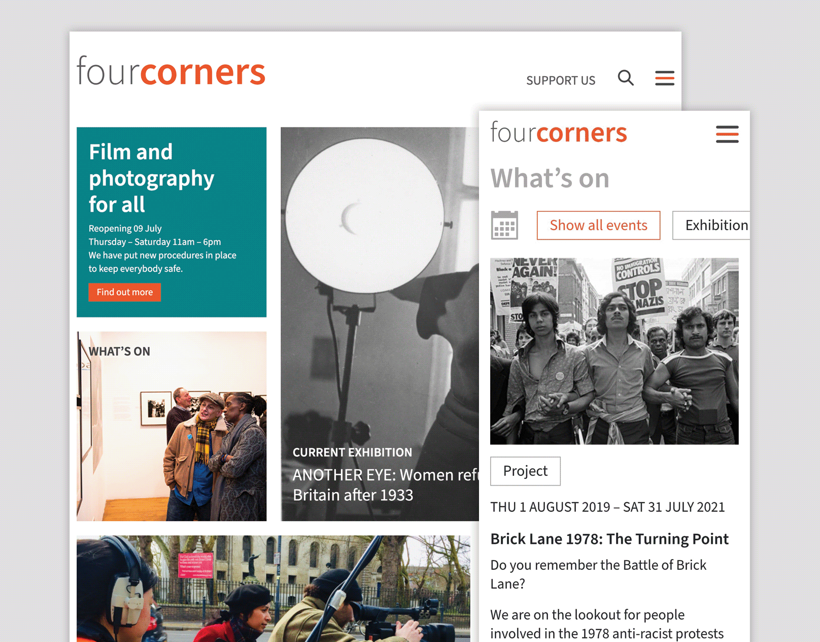 Four Corners | Website