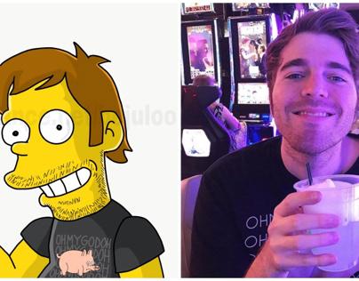 Shane Dawson Simpsons