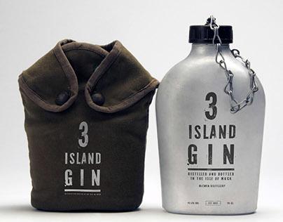 3 ISLAND GIN - BRANDING & PACKAGING