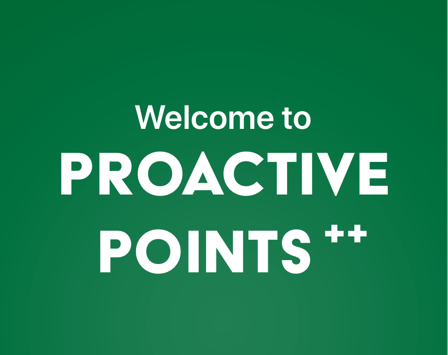 Proactive Points Prototype