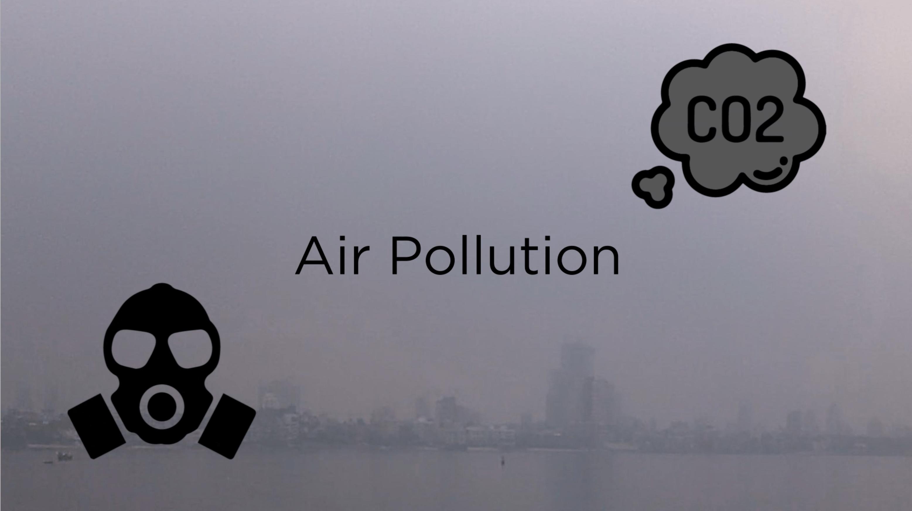 Air Pollution Animation