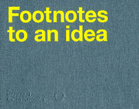 Footnotes to an idea