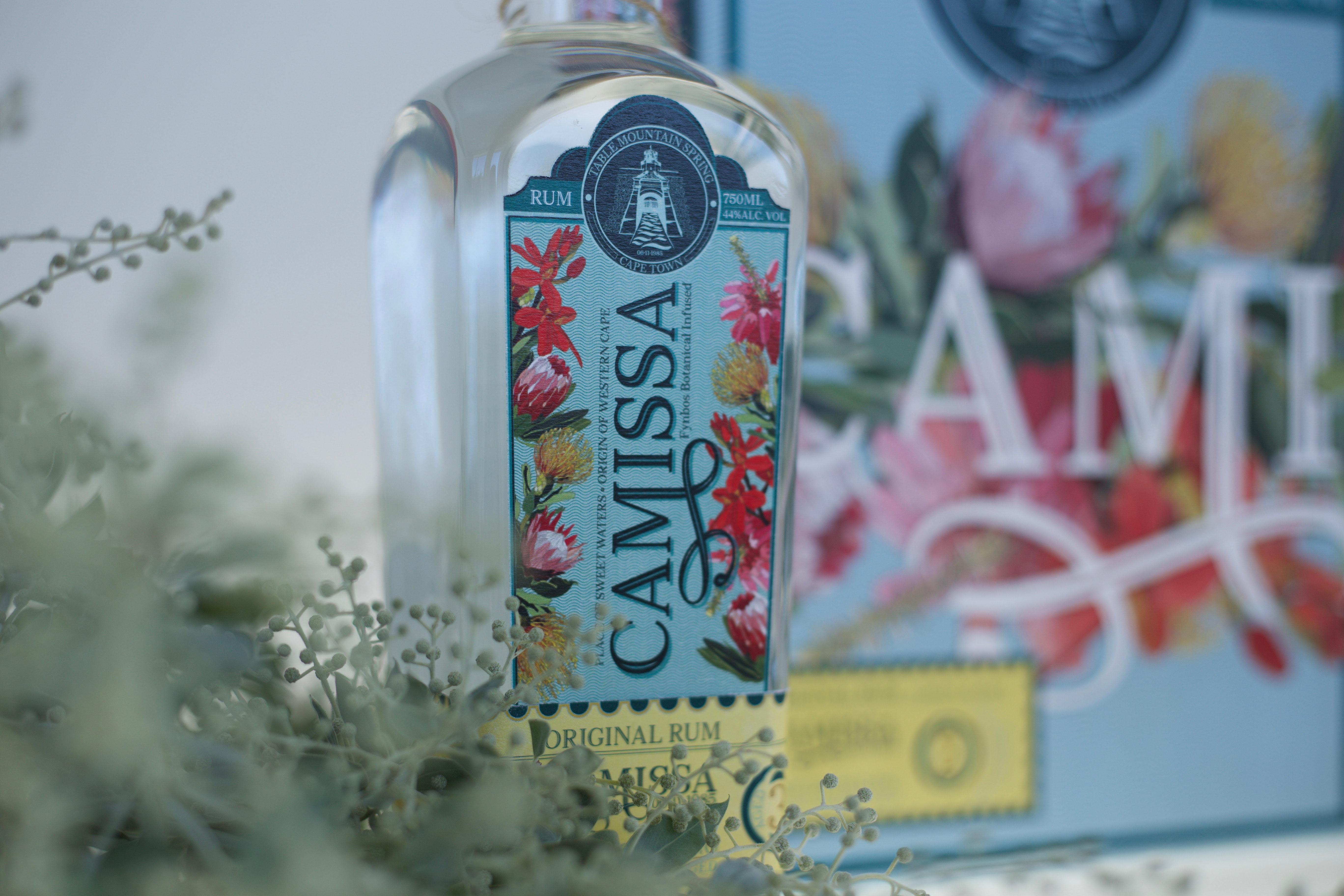 Camissa Rum Label & Promotional Packaging