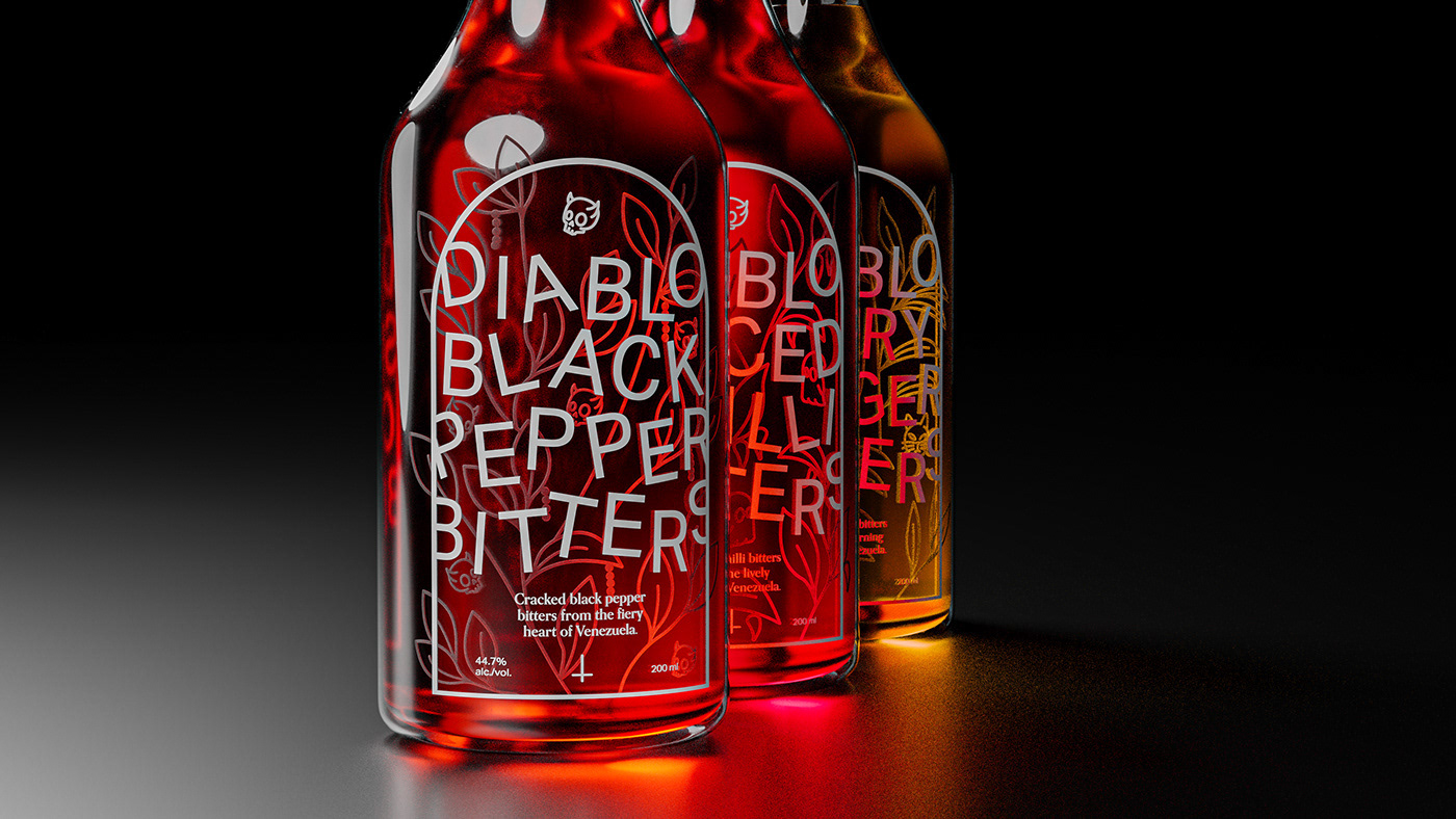 Diablo Black Pepper Bitters