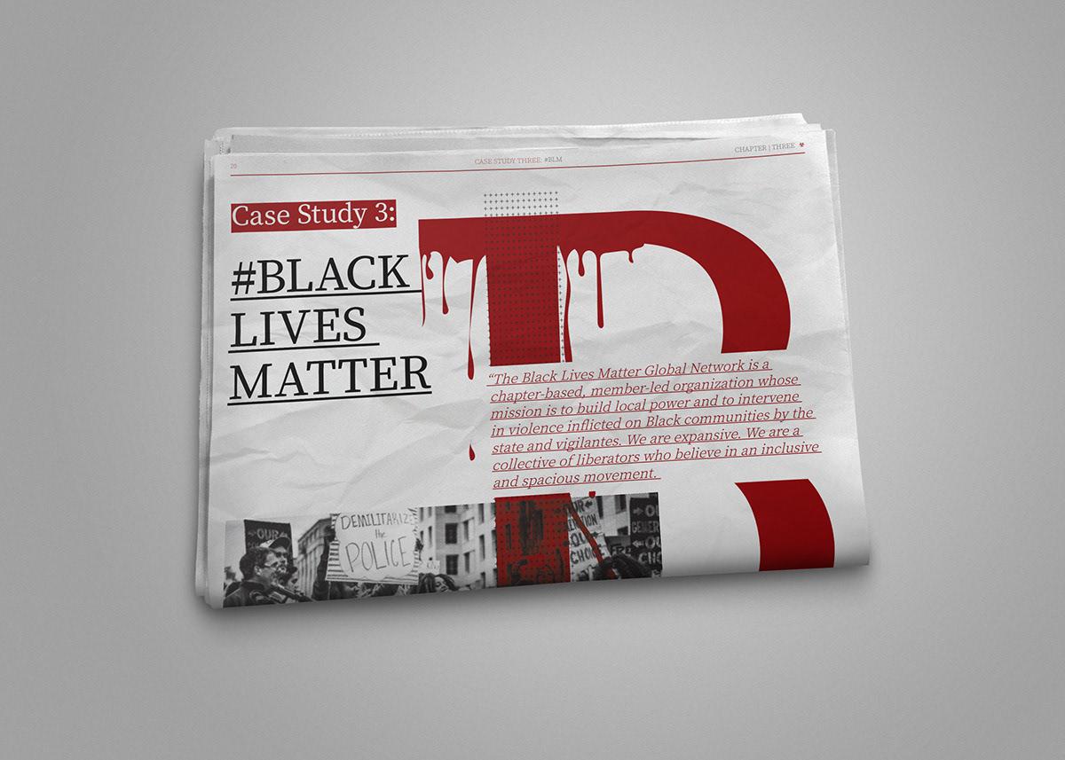 Istd Protest - Editorial Design