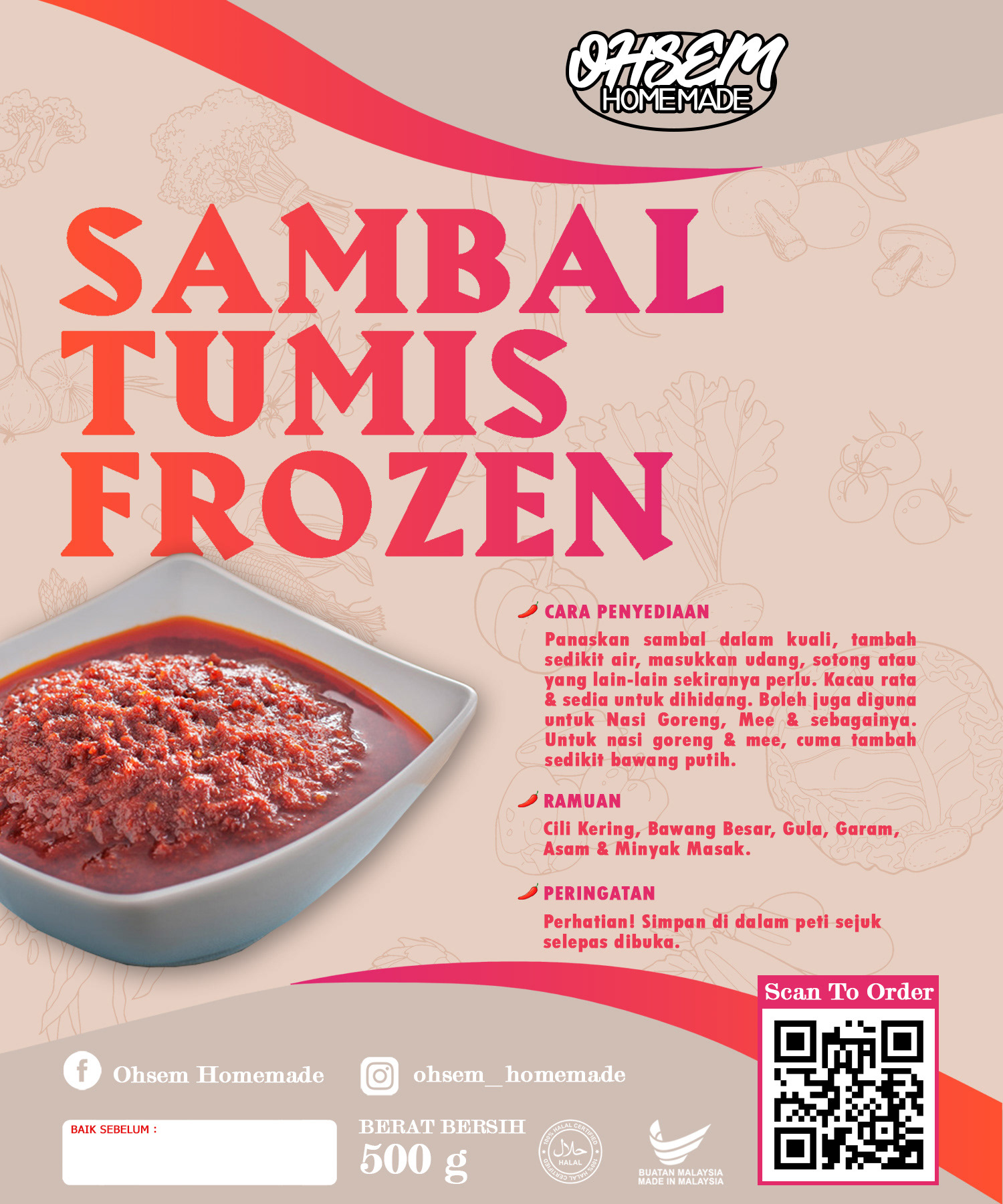 Sambal Andaliman Mamak Projects Photos Videos Logos Illustrations And Branding On Behance