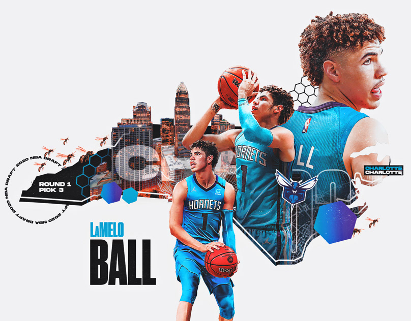 Lamelo Ball projects | Photos, videos, logos, illustrations and branding on Behance