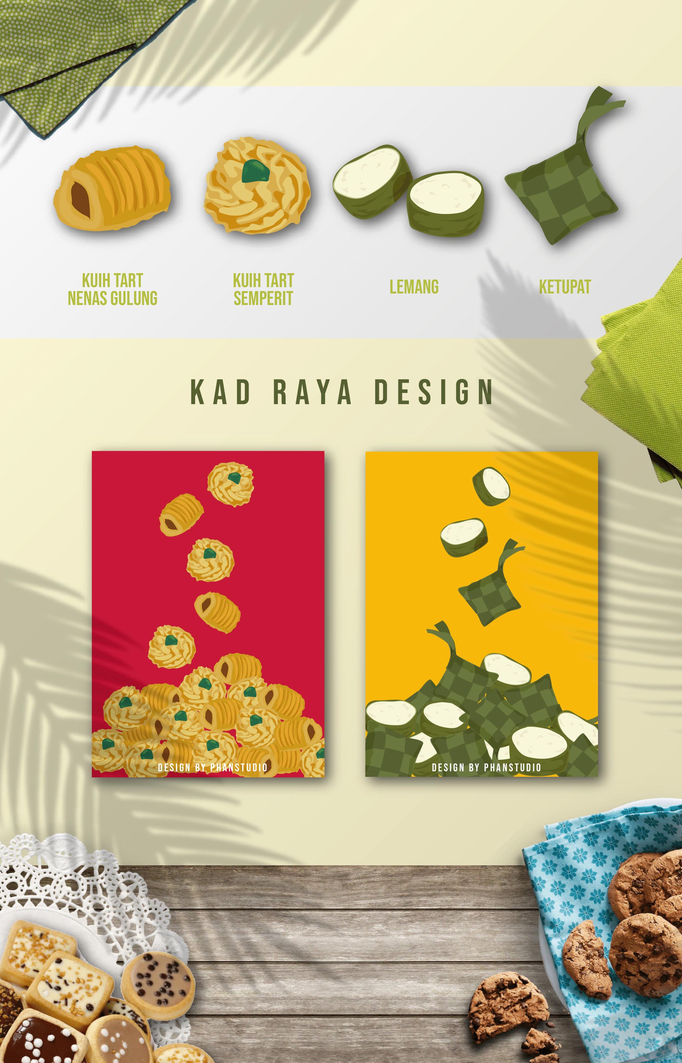 Kad Raya Projects Photos Videos Logos Illustrations And Branding On Behance
