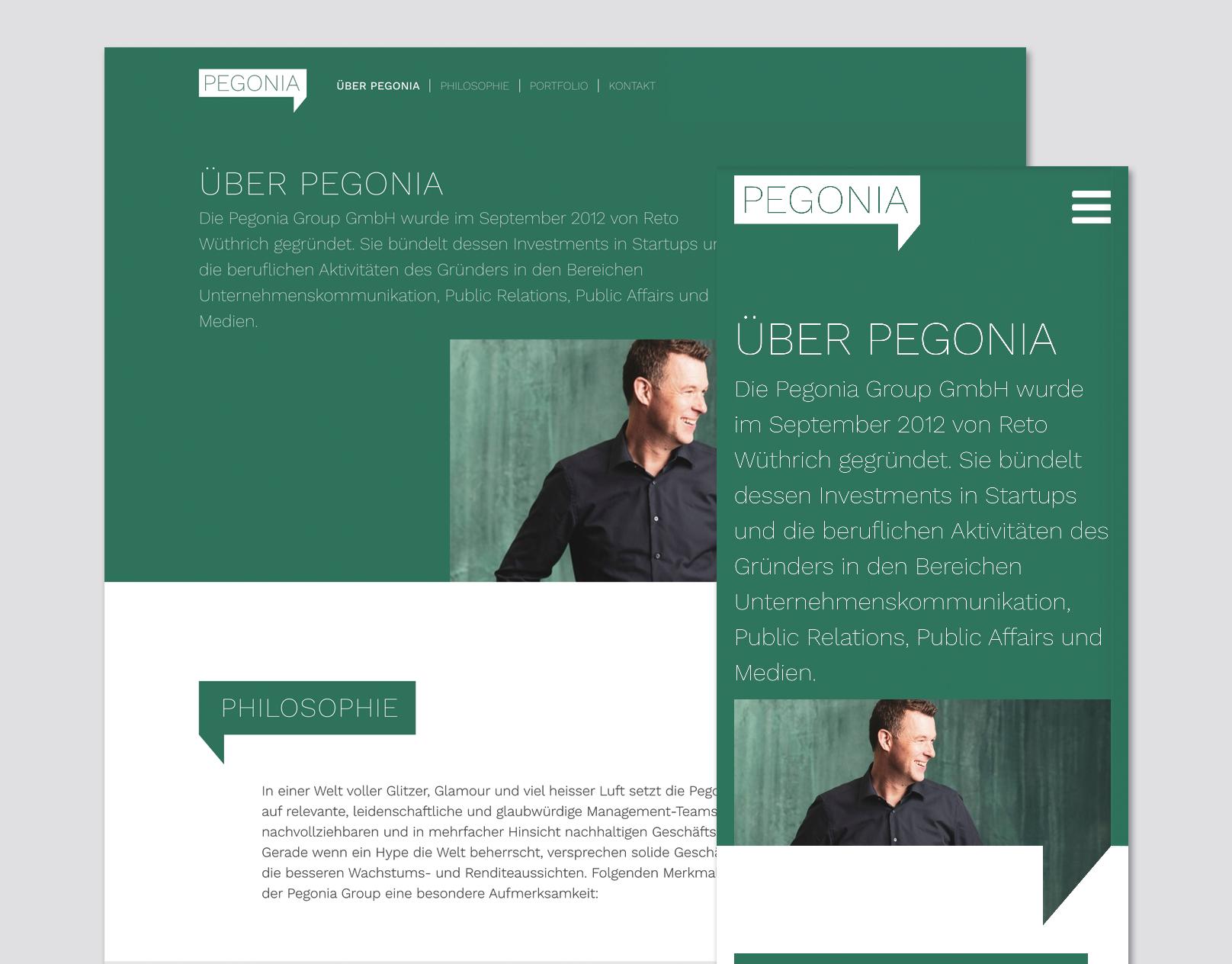 Pegonia Group GmbH | Website