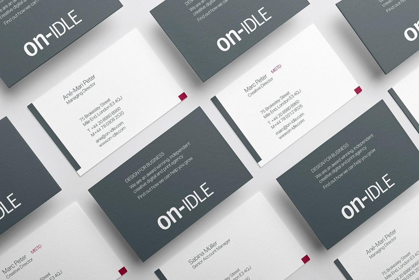 on-IDLE | Brand Refresh