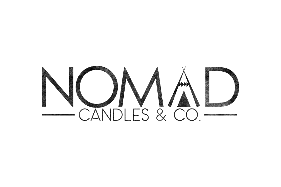 Nomad Candles Logo Design