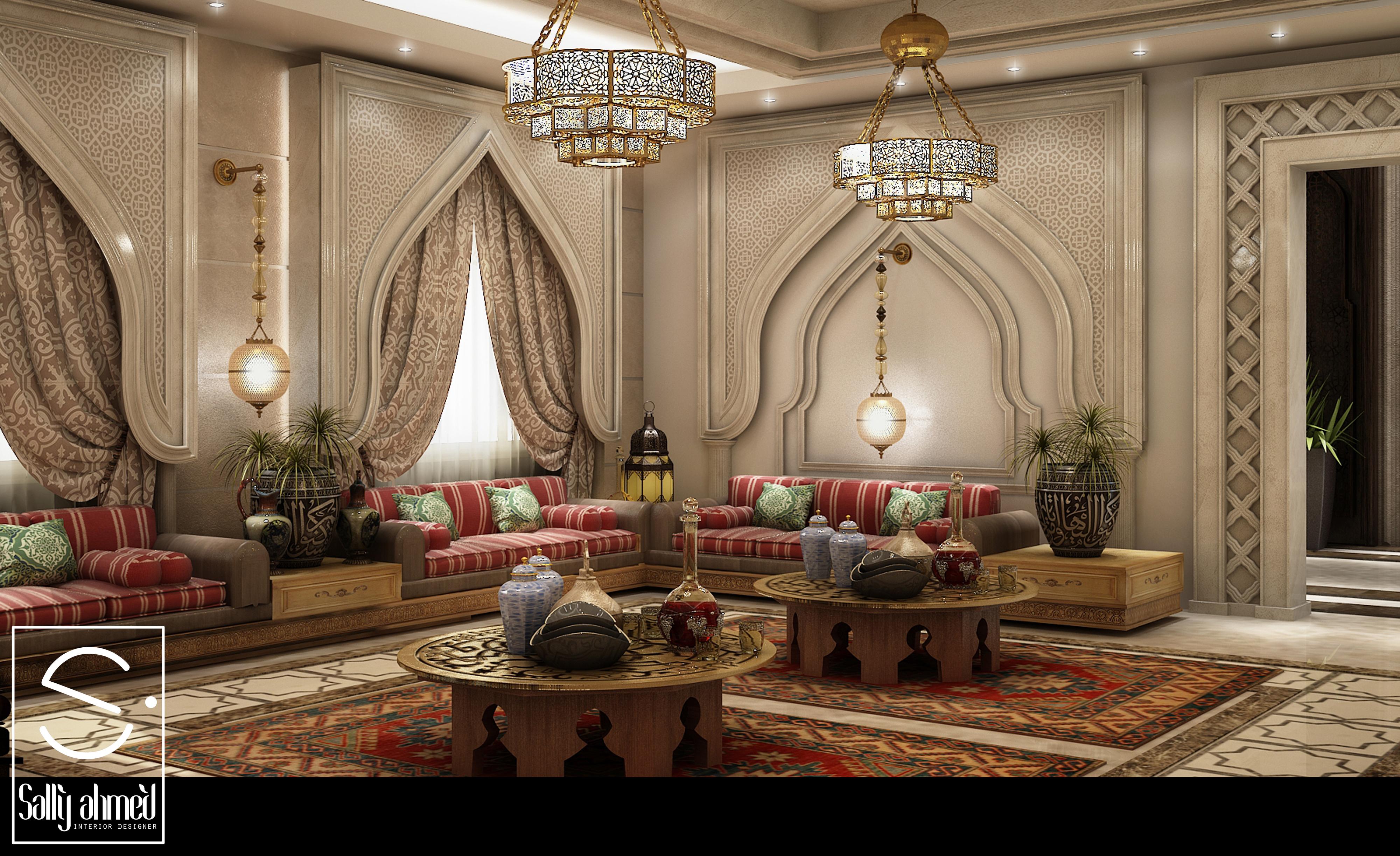 arabian style living room - HD3840×2347