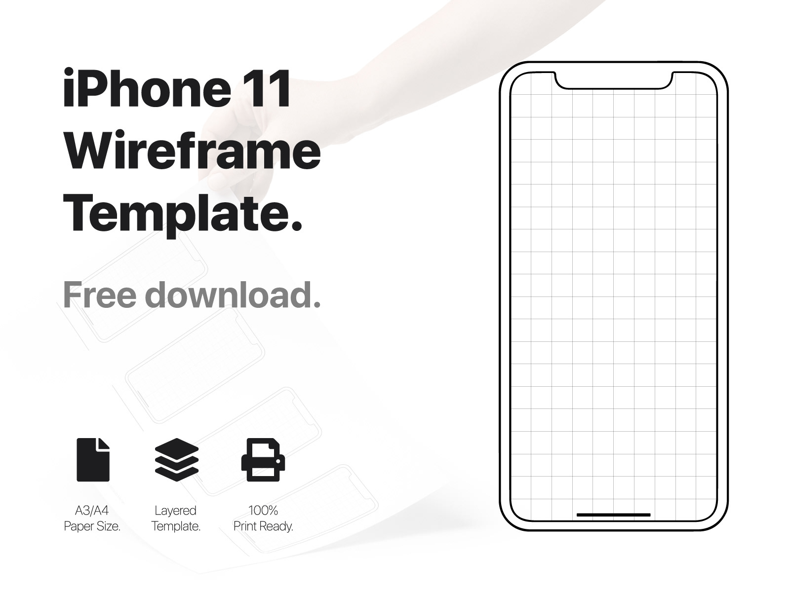 Iphone 11 Wireframe Projects Photos Videos Logos Illustrations And Branding On Behance