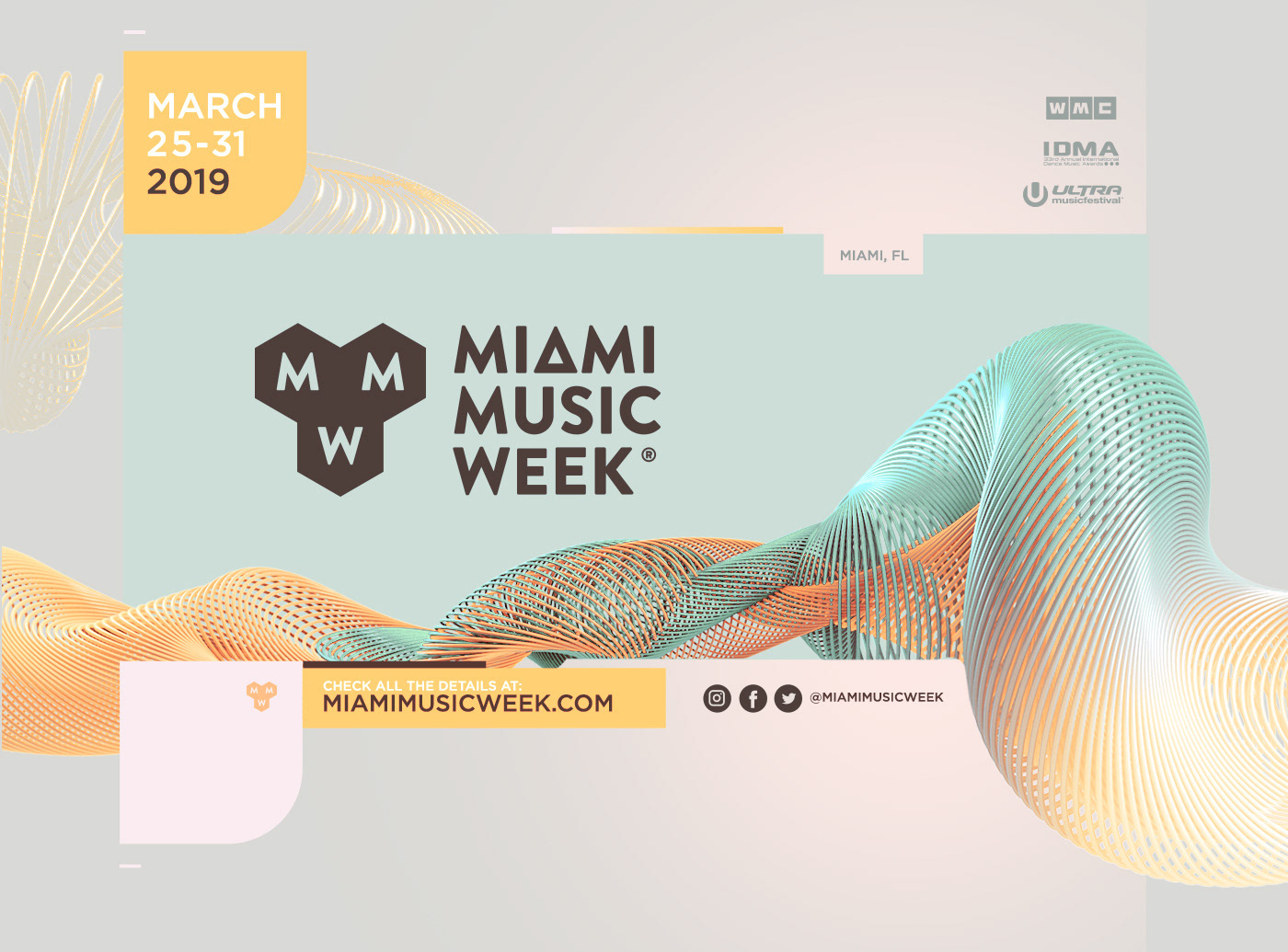Miami Music Projects Photos Videos Logos Illustrations And Branding On Behance
