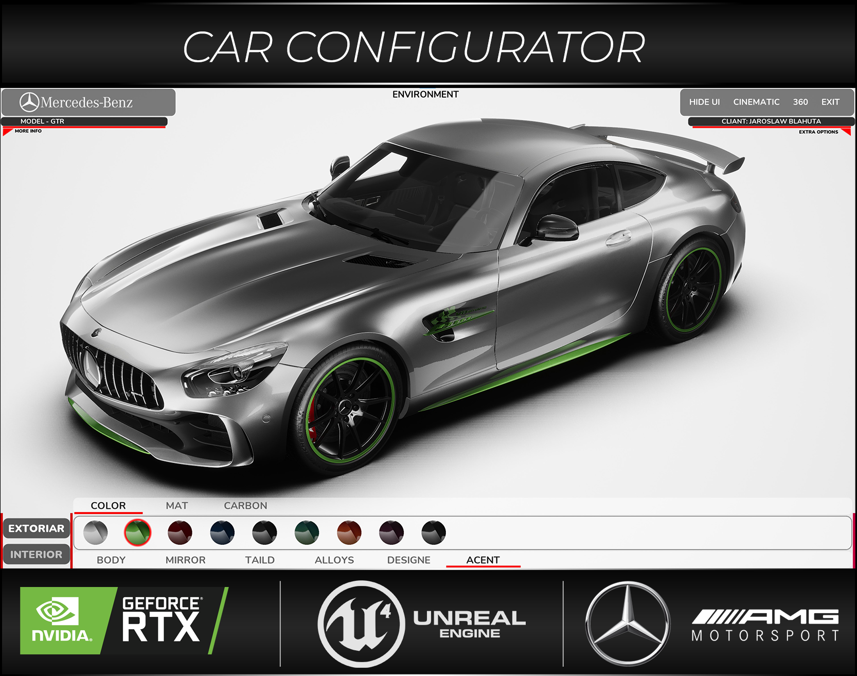 Car Configurator Projects Photos Videos Logos Illustrations And Branding On Behance