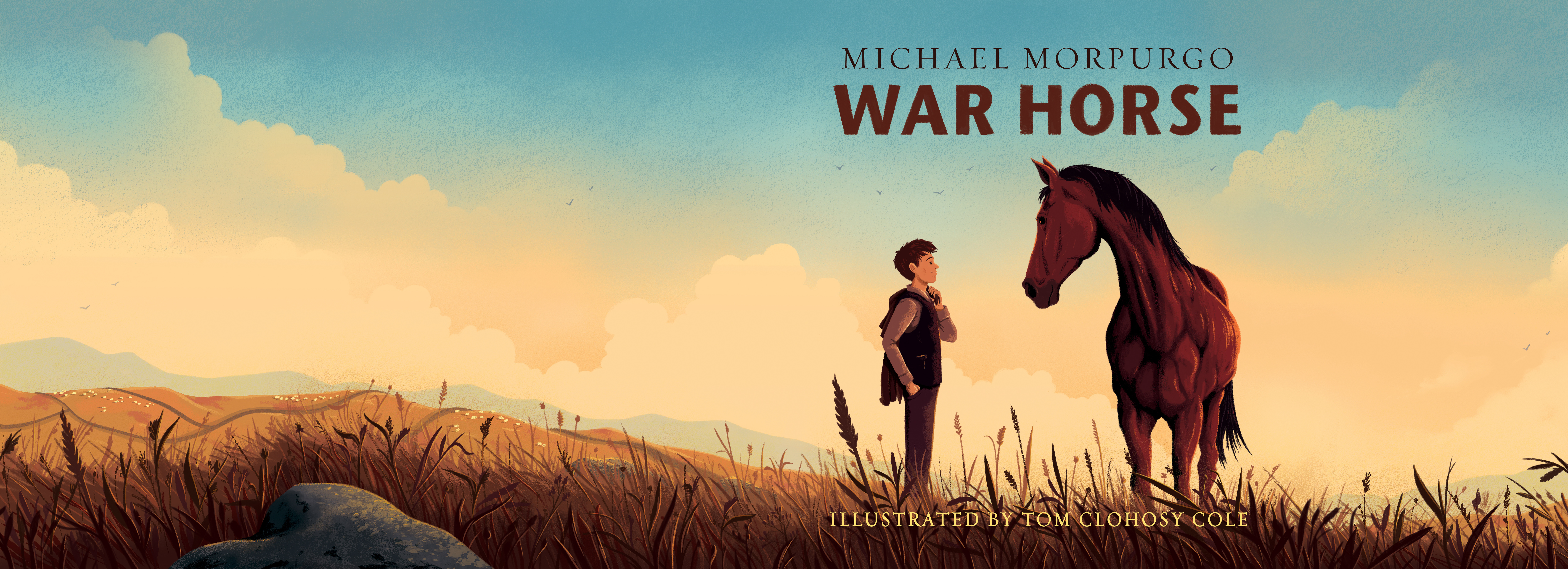 War Horse Book Projects Photos Videos Logos Illustrations And Branding On Behance