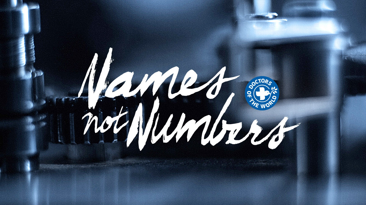 Doctors of the World - Names not Numbers