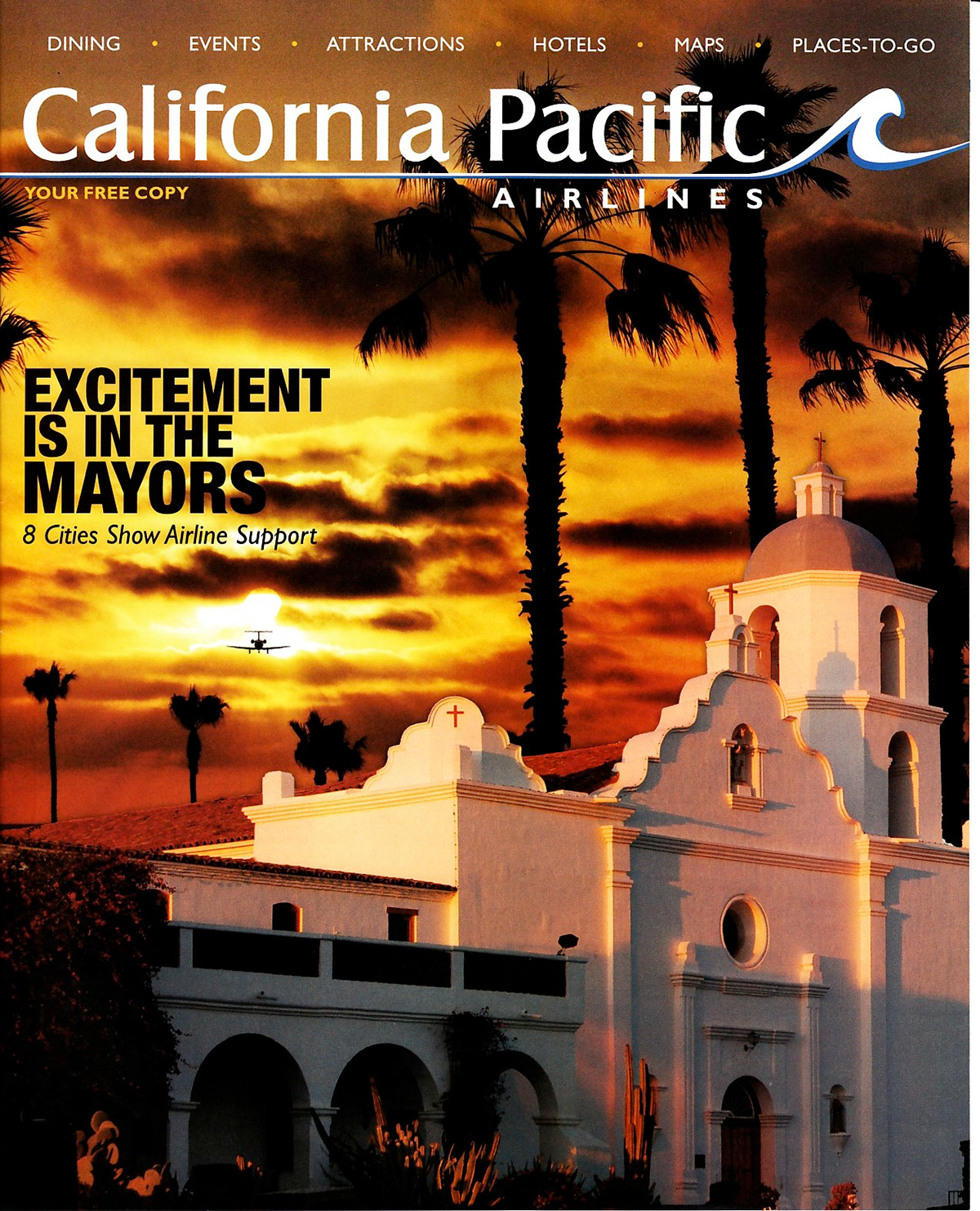 California Pacific Airlines Spring 2012 Issue