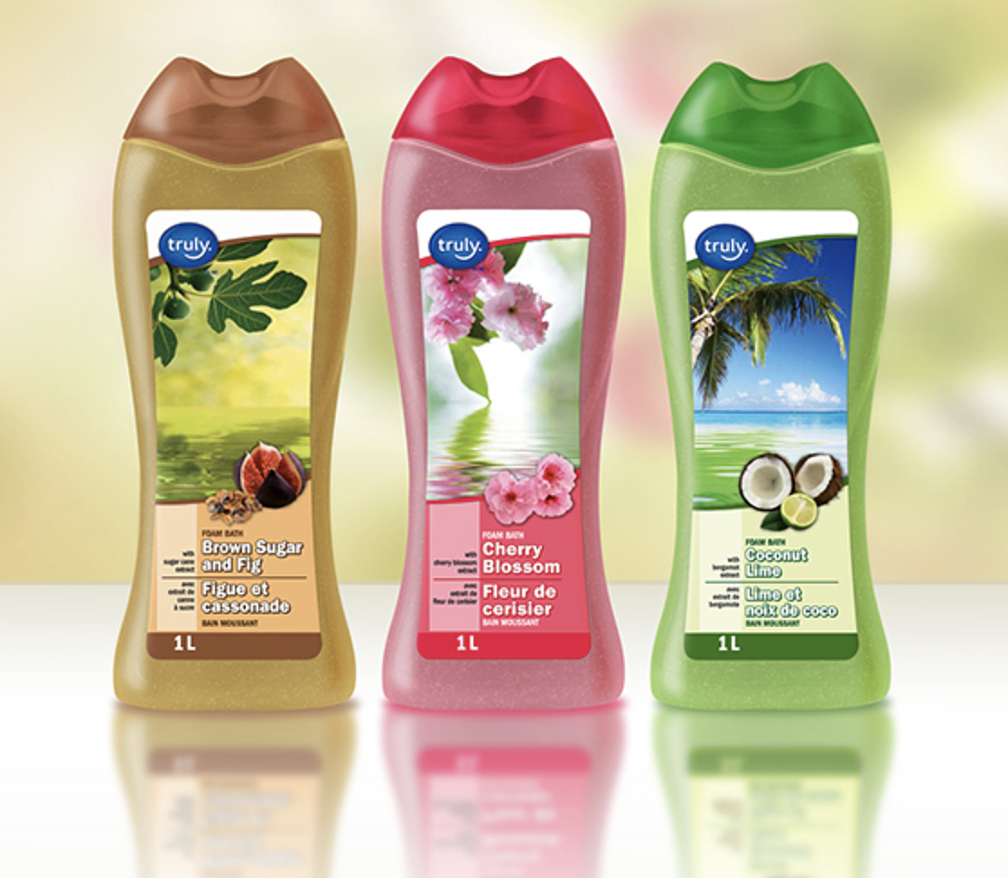 Truly Private Label Personal Care Packaging