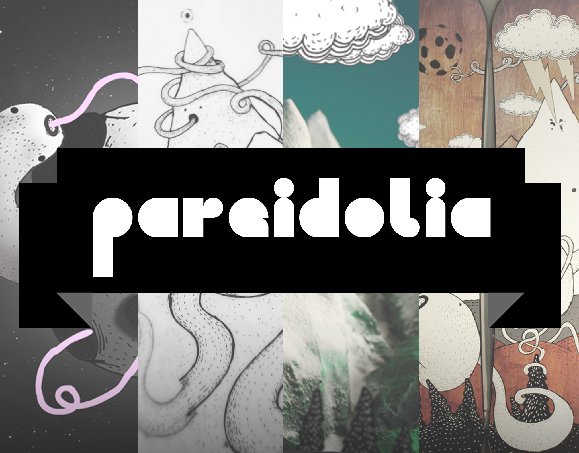 PAREIDOLIA   Snowboards graphics & interactive project