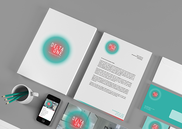 Visual identity for a medical lab