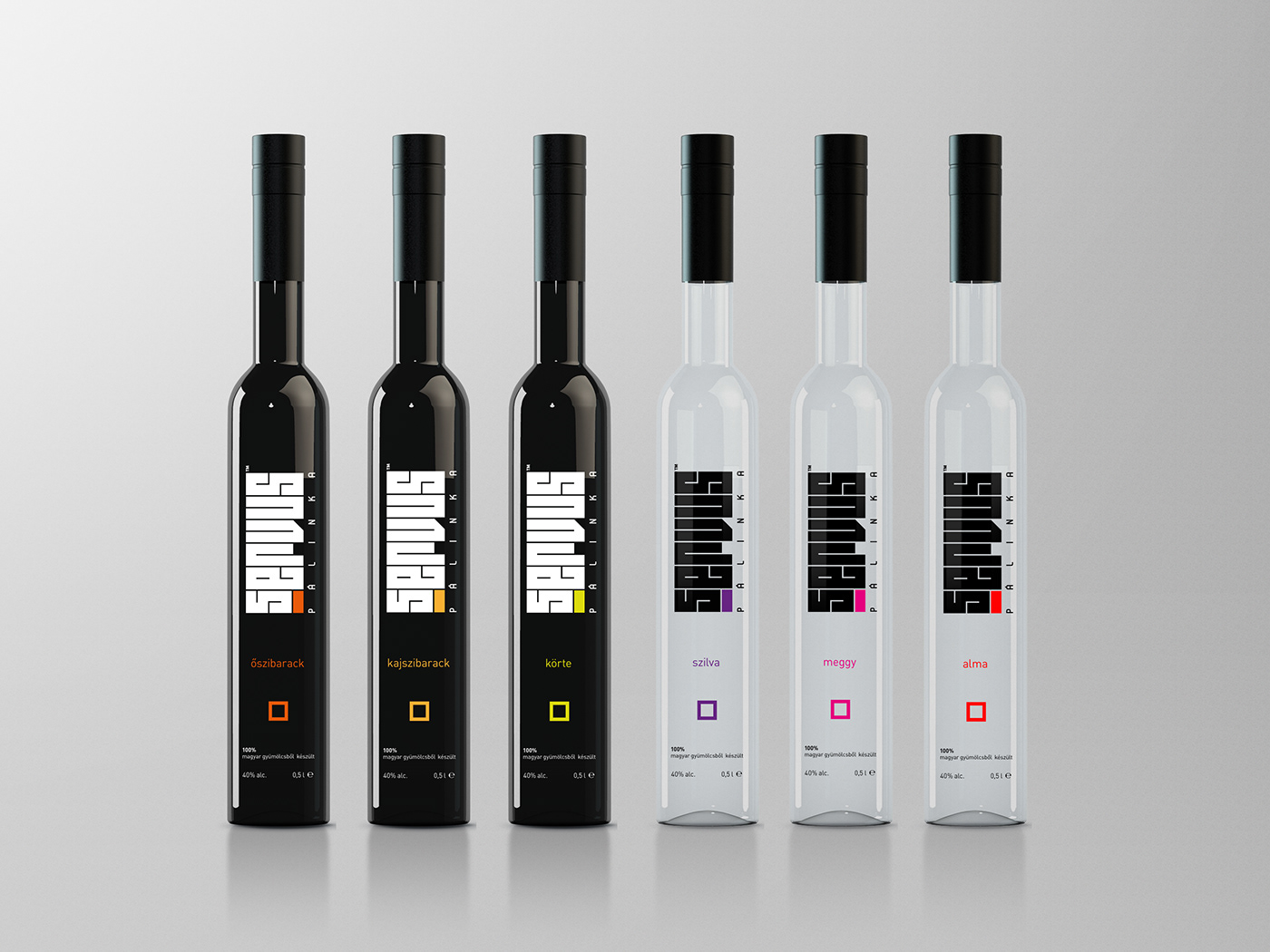 Servus™ palinka packaging & corporate identity