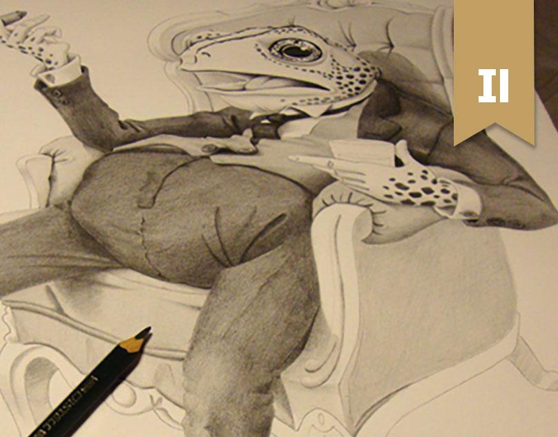 Pencil Sketch for Animal Behaviour