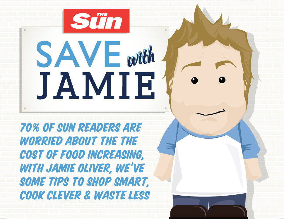 Save with Jamie Infographic