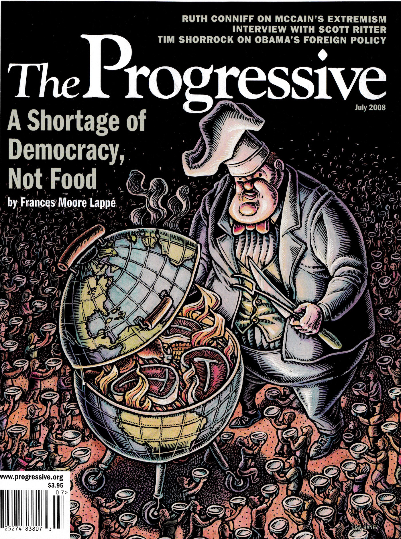 Magazine Illustrations: The Progressive