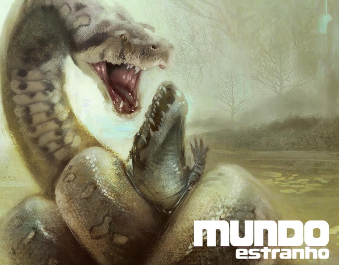 Mundo Estranho #156 - Titanoboa