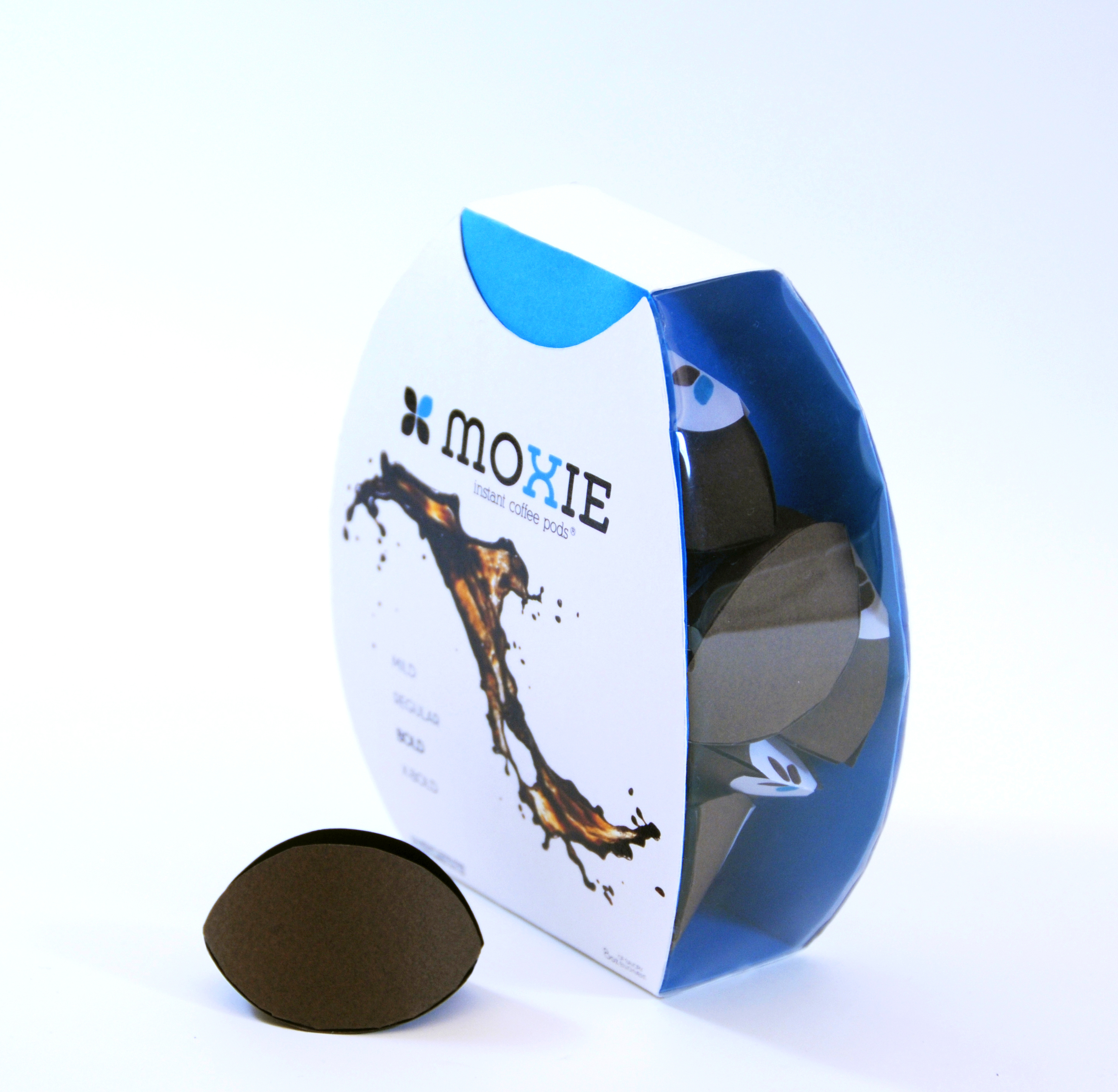 Moxie Coffee Packaging